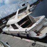 Reforma de barco Princess 55 carpintería
